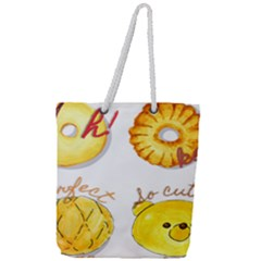 Bread Stickers Full Print Rope Handle Tote (large) by KuriSweets