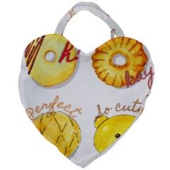 Bread Stickers Giant Heart Shaped Tote by KuriSweets