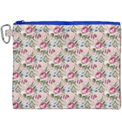 Cute Floral 218a Canvas Cosmetic Bag (xxxl)