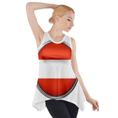 Austria Country Nation Flag Side Drop Tank Tunic by Nexatart