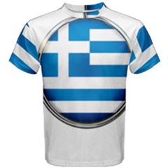 Greece Greek Europe Athens Men s Cotton Tee by Nexatart