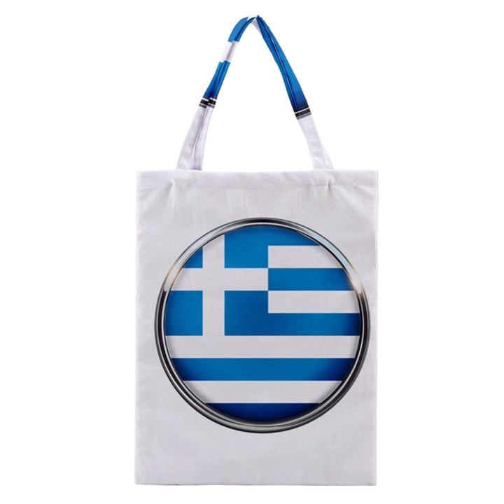 Greece Greek Europe Athens Classic Tote Bag