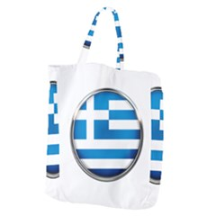 Greece Greek Europe Athens Giant Grocery Zipper Tote