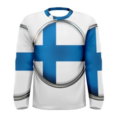 Finland Country Flag Countries Men s Long Sleeve Tee