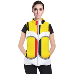 Belgium Flag Country Brussels Women s Puffer Vest