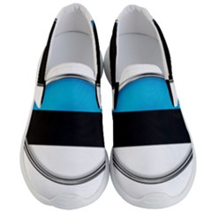 Estonia Country Flag Countries Men s Lightweight Slip Ons
