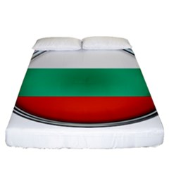 Bulgaria Country Nation Nationality Fitted Sheet (king Size)
