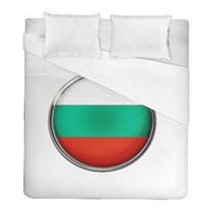 Bulgaria Country Nation Nationality Duvet Cover (full/ Double Size) by Nexatart