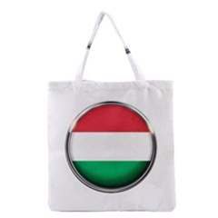 Hungary Flag Country Countries Grocery Tote Bag by Nexatart