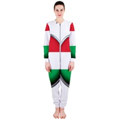Hungary Flag Country Countries Onepiece Jumpsuit (ladies)
