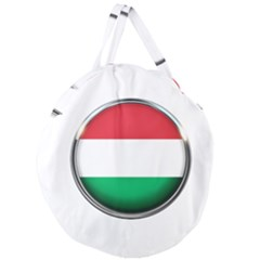 Hungary Flag Country Countries Giant Round Zipper Tote