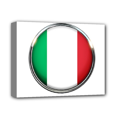 Italy Country Nation Flag Deluxe Canvas 14  X 11
