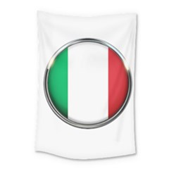 Italy Country Nation Flag Small Tapestry by Nexatart
