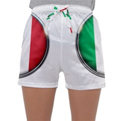 Italy Country Nation Flag Sleepwear Shorts