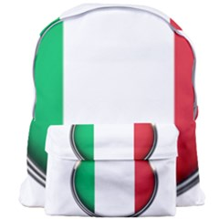 Italy Country Nation Flag Giant Full Print Backpack