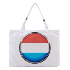 Luxembourg Nation Country Red Medium Tote Bag