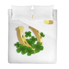 St  Patricks Day  Duvet Cover Double Side (full/ Double Size) by Valentinaart