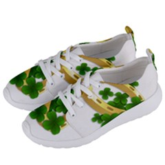 St  Patricks Day  Women s Lightweight Sports Shoes by Valentinaart
