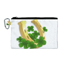 St  Patricks Day  Canvas Cosmetic Bag (medium) by Valentinaart