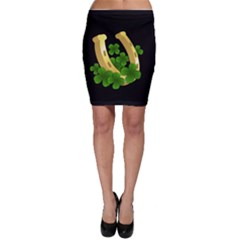 St  Patricks Day  Bodycon Skirt