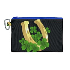 St  Patricks Day  Canvas Cosmetic Bag (large) by Valentinaart