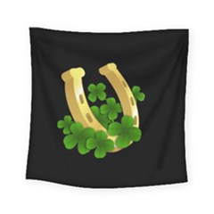 St  Patricks Day  Square Tapestry (small) by Valentinaart