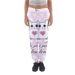 Cute Mouse - Valentines Day Women s Jogger Sweatpants by Valentinaart