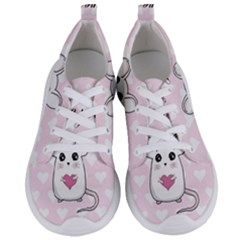 Cute Mouse   Valentines Day Women s Lightweight Sports Shoes