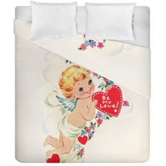 Cupid   Vintage Duvet Cover Double Side (california King Size) by Valentinaart
