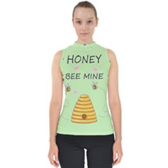 Bee Mine Valentines Day Shell Top