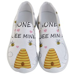 Bee Mine Valentines Day Men s Lightweight Slip Ons by Valentinaart