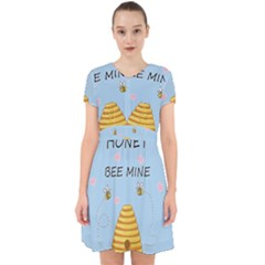 Bee Mine Valentines Day Adorable In Chiffon Dress