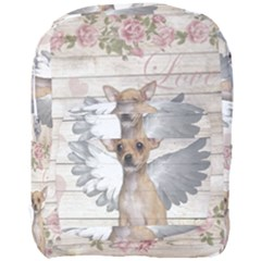 Vintage Chihuahua   Valentines Day Full Print Backpack