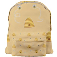 Bee Pattern Giant Full Print Backpack
