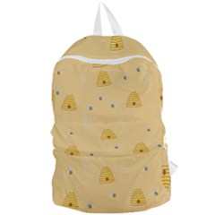 Bee Pattern Foldable Lightweight Backpack