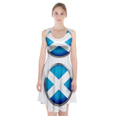 Scotland Nation Country Nationality Racerback Midi Dress