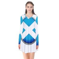 Scotland Nation Country Nationality Flare Dress