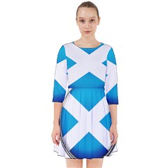 Scotland Nation Country Nationality Smock Dress