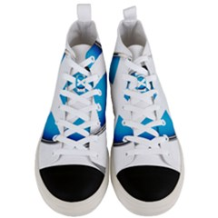 Scotland Nation Country Nationality Men s Mid Top Canvas Sneakers