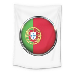 Portugal Flag Country Nation Medium Tapestry by Nexatart