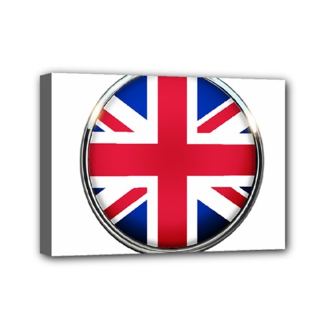 United Kingdom Country Nation Flag Mini Canvas 7  X 5  by Nexatart