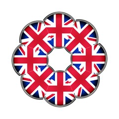 United Kingdom Country Nation Flag Golf Umbrellas by Nexatart