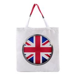 United Kingdom Country Nation Flag Grocery Tote Bag