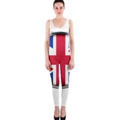 United Kingdom Country Nation Flag One Piece Catsuit by Nexatart