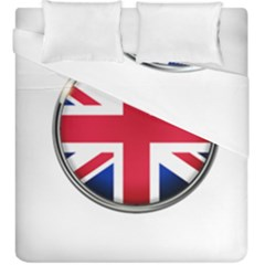 United Kingdom Country Nation Flag Duvet Cover Double Side (king Size) by Nexatart