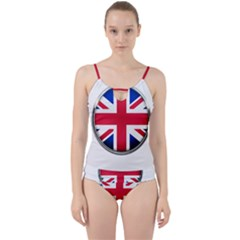 United Kingdom Country Nation Flag Cut Out Top Tankini Set
