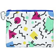 Art Background Abstract Unique Canvas Cosmetic Bag (xxl)