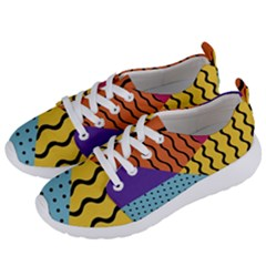 Background Abstract Memphis Women s Lightweight Sports Shoes by Nexatart