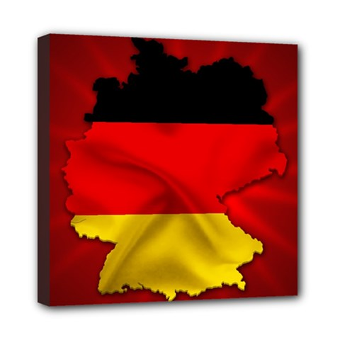 Germany Map Flag Country Red Flag Multi Function Bag