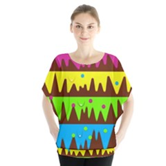 Illustration Abstract Graphic Blouse